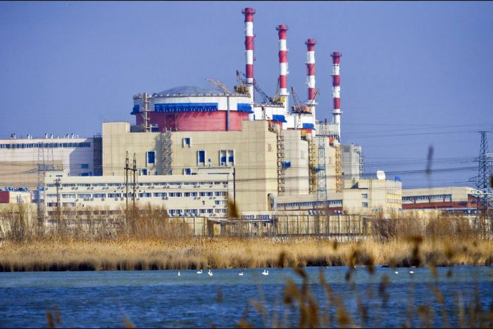 Nuclear power plant. Hyreval in action.