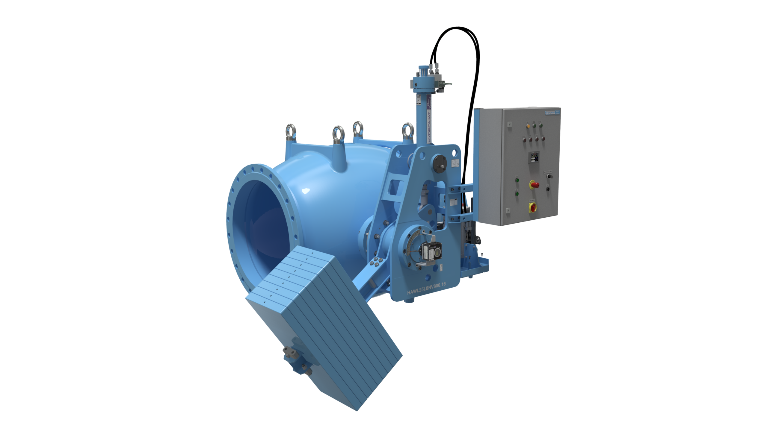 hydromat axial flow control